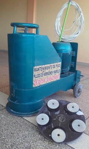 alquiler de maquinas pulidoras de piso