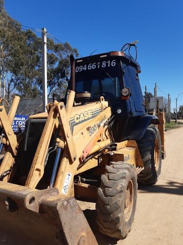 alquiler de máquinas retroexcavadoras y camión