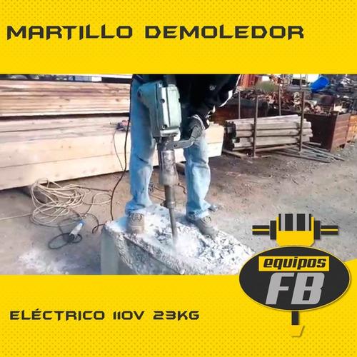 alquiler de martillo demoledores y rotomartillos equipos fb