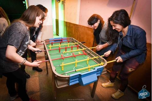 alquiler de mesa de pool ping pong metegol tejo sapo dardos