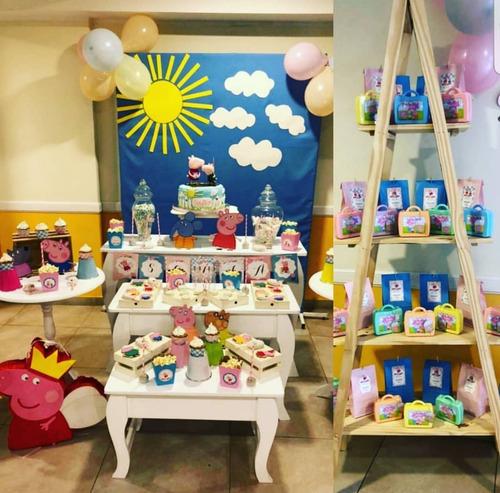 alquiler de mesas candy bar ambientacion cumpleaños
