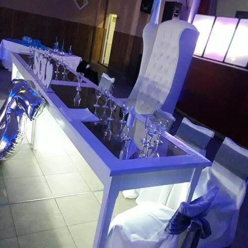 alquiler de mesas led.sillon berguer