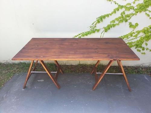 alquiler de mesas, sillas de madera plegables-pvc, paellera