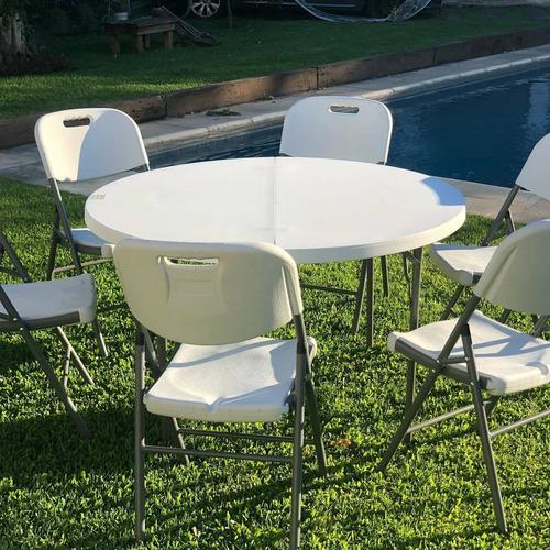 alquiler de mesas, sillas, living, manteles
