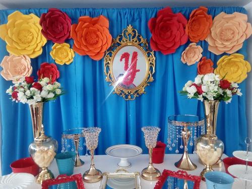 alquiler de mesas vintage, decoración de fiesta en lima