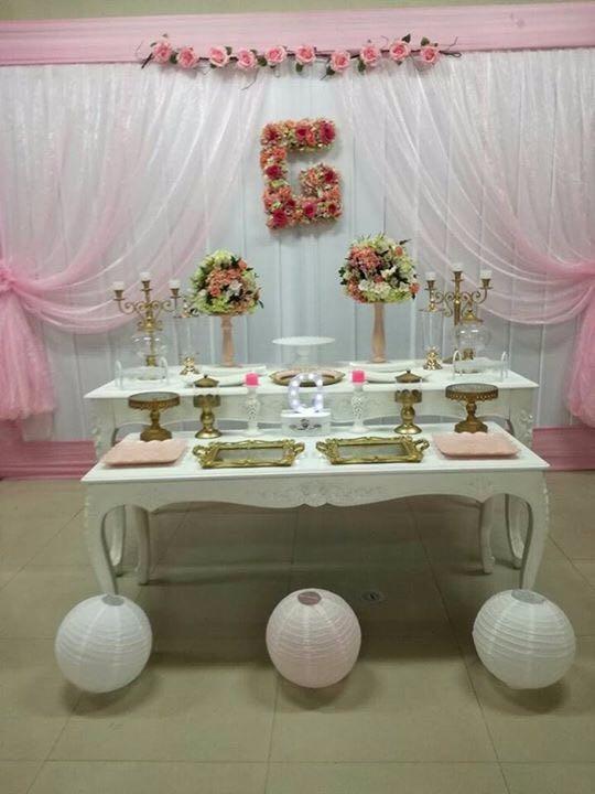 Alquiler De Mesas Vintage Shower Matrimonio Fiestas Bautizo S 18000