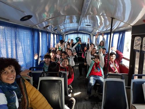 alquiler de micros escolares combis turismo traslado en gral