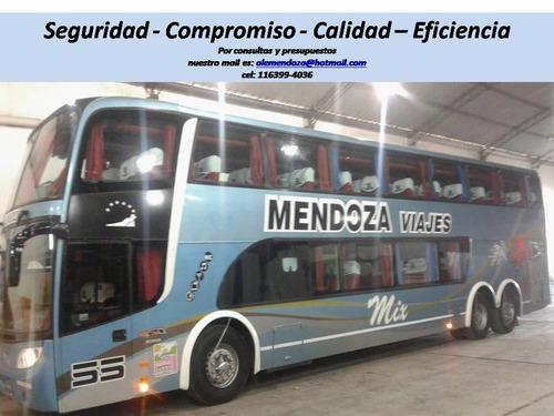 alquiler de micros omnibus buses de corta y  larga distancia