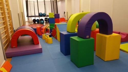 alquiler de mini gym para niños de 4 meses a 3 años de edad.