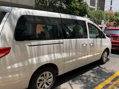 alquiler de mini van h1 minivan hyundai sin chofer lima
