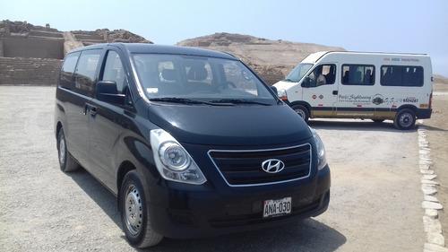 alquiler de mini van h1 minivan hyundai suv creta 2018 lima