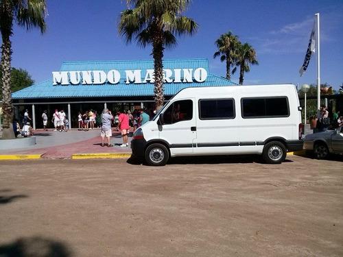 alquiler de mini vans y mini bus 11 - 15 - 19