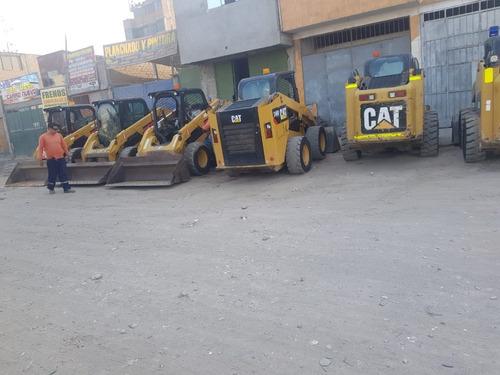 alquiler de  minicargadores  cat  modernos a  nivel nacional