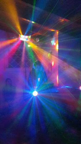 alquiler de miniteca, sonido, dj, fiesta, show, humo, luces.