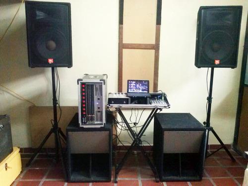 alquiler de miniteca sonido profesional dj
