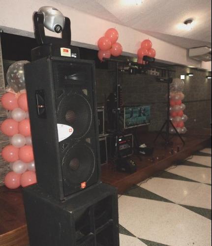 alquiler de miniteca, sonido, video e iluminación