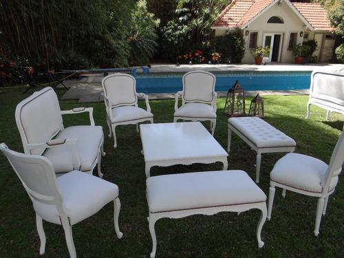 alquiler de mobiliario de estilo luis xv y otros