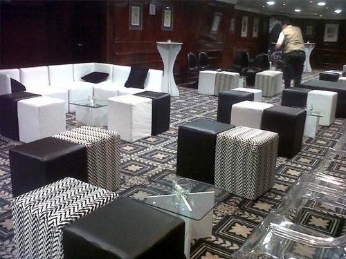alquiler de mobiliario lounge para celebraciones