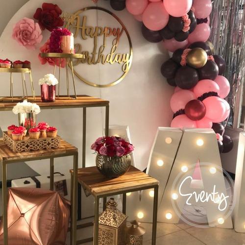 alquiler de mobiliario para eventos y fiestas