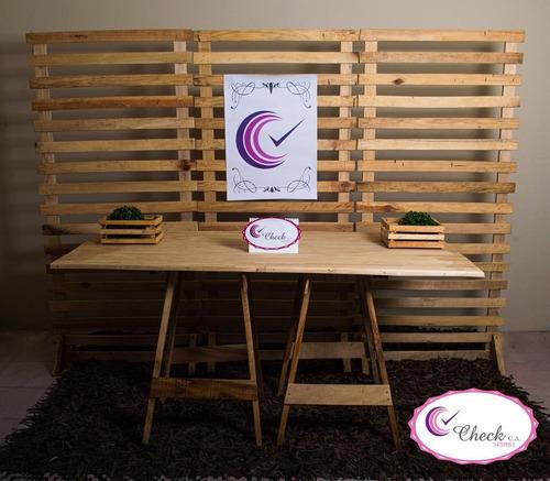 alquiler de mobiliario para fiestas candy bar
