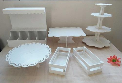alquiler de mobiliario para mesa dulce. eventos