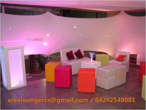 alquiler de mobiliario y servicios para tu evento