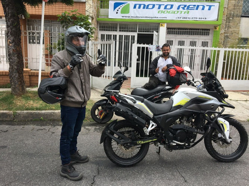 alquiler de moto bogotá