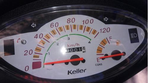 alquiler de moto keller crono classic 110 o km