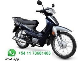 alquiler de moto para delivery con opción a compra 0km