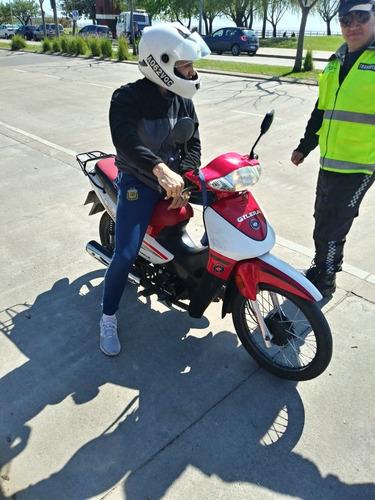 alquiler de moto para rendir examen practico-zona norte $900