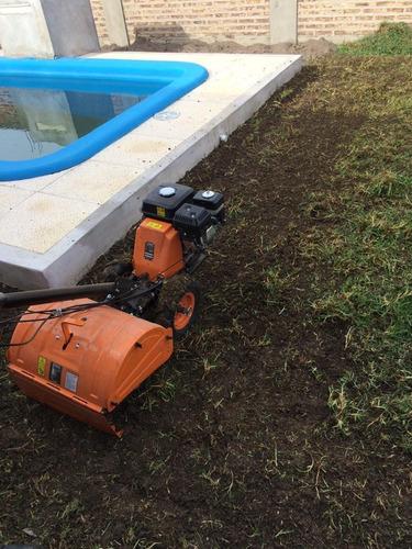 alquiler de motocultivadora para nivelacion de terreno