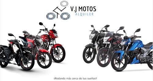 alquiler de motos- mensajeria- domiciliarios- arrendamiento