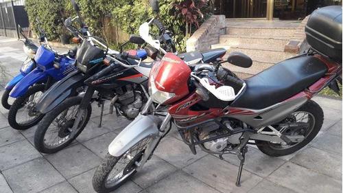 alquiler de motos para examen de capital, en costanera norte