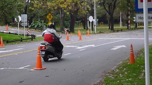 alquiler de motos, para examen practico en el aca de palermo