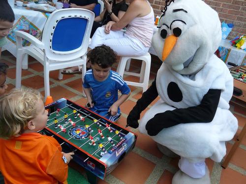 alquiler de muñecotes de frozen para fiestas infantiles