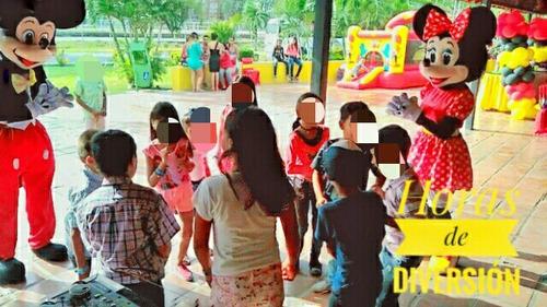 alquiler de muñecotes de mickey y minnie fiestas infantiles