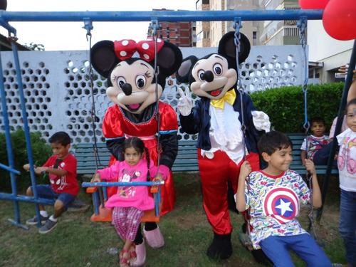 alquiler de muñecotes para fiestas infantiles