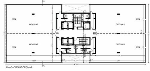 alquiler de oficinas en calle 6, 572, la plata - 800 m²