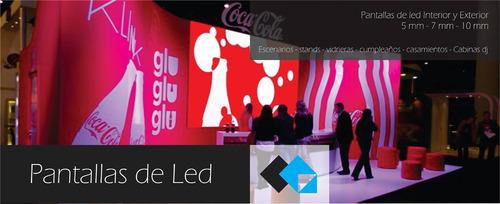 alquiler de pantalla de led proyectores lcd en córdoba