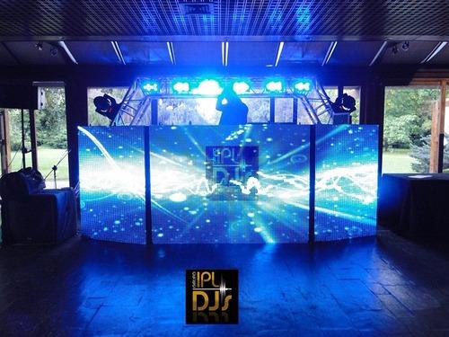 alquiler de pantalla de leds - cabinas de dj - lluvias leds