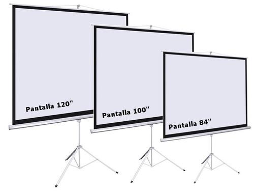 alquiler de pantalla gigante proyector sonido eventos
