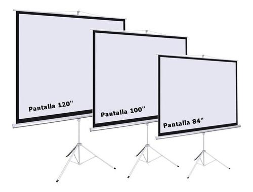 alquiler de pantalla gigante - proyectores x día x evento