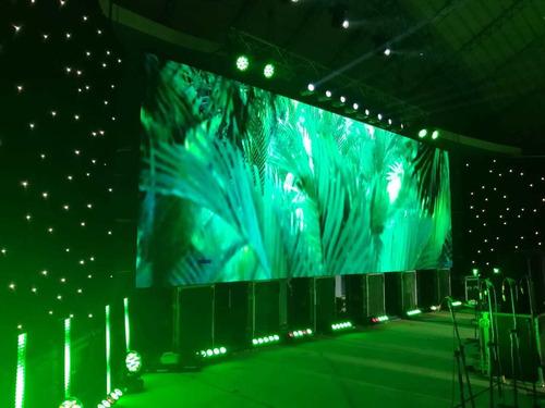 alquiler de pantalla led gigante p3, p4, p6 - lima perú