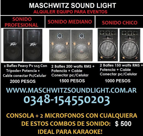 alquiler de pantalla y proyector -maschwitz- escobar-mundial