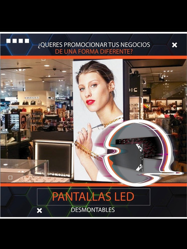 alquiler de pantallas led para locales comerciales