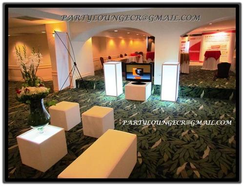 alquiler de pantallas led, televisores, stands, mobiliario