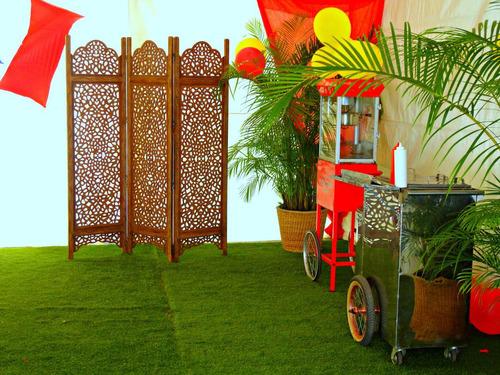 alquiler de parabanes y palmeras
