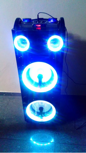 alquiler de parlante portatil con bluetooth karaoke