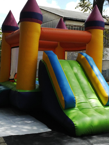alquiler de parque infantil, baby gyms, colchon, cama elasti