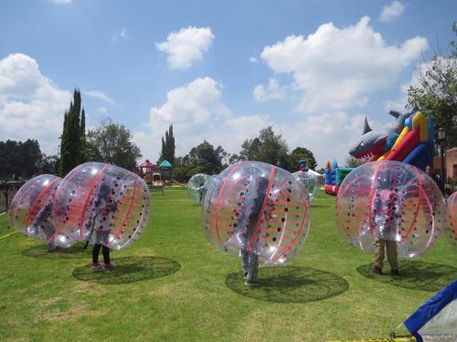alquiler de pelotas choconas bumper ball,esferas choconas